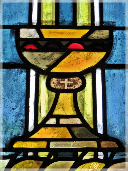 church window confirmation communion