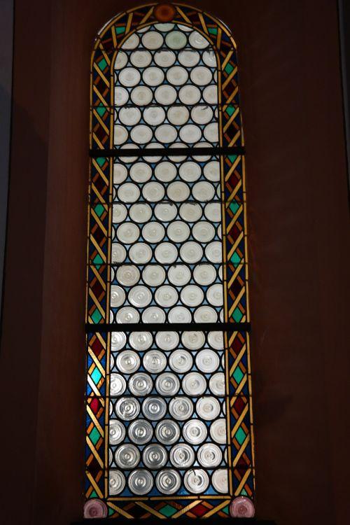 church window slug glazing about