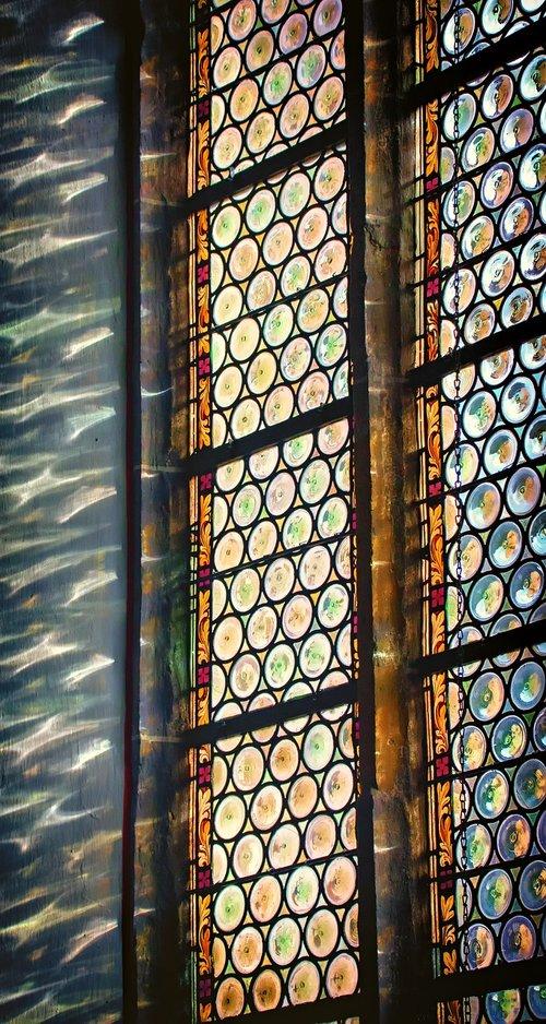 church window  church  glass