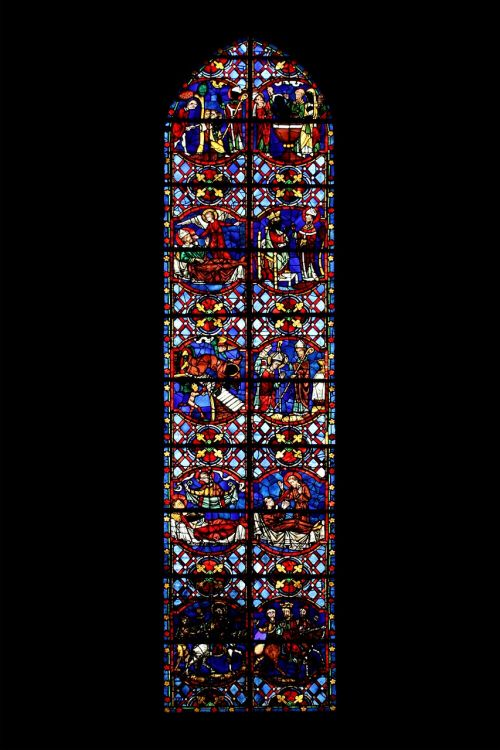 church window glasmalereie glass window