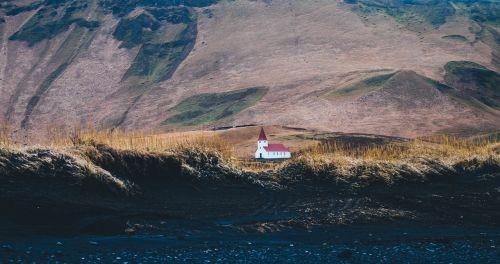 churches mountains scenery