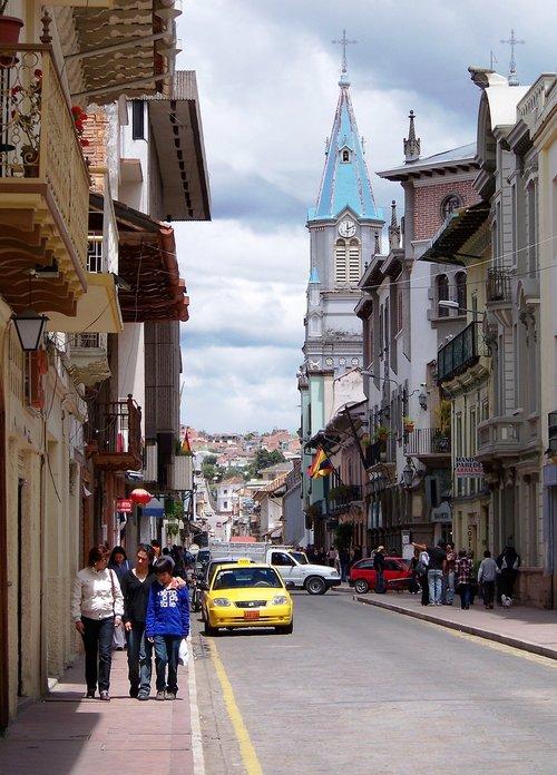 churches  ecuador  historic centre