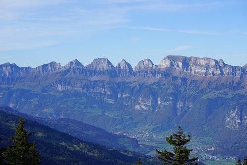 churfirsten  mountains  st