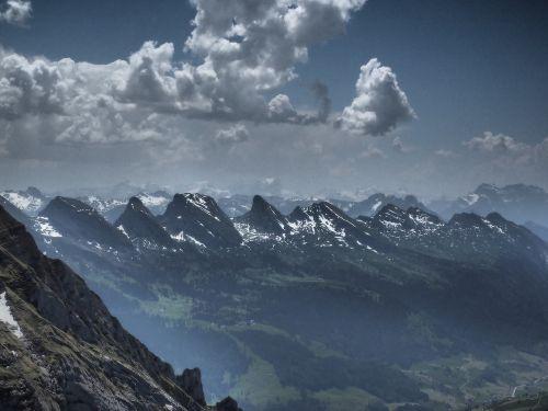 churfirsten mountains alpine