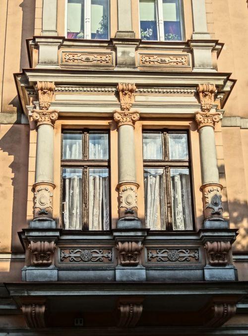cieszkowskiego street bydgoszcz pilasters