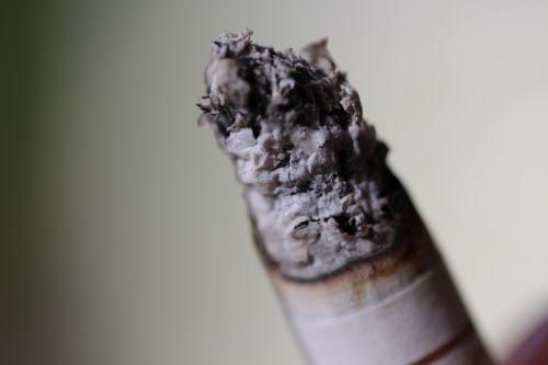cigarette ash burns