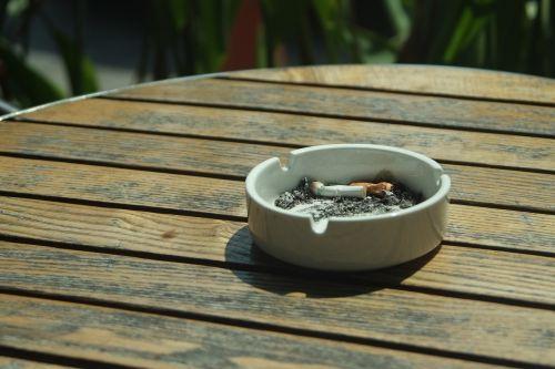 cigarette ashtray smoke