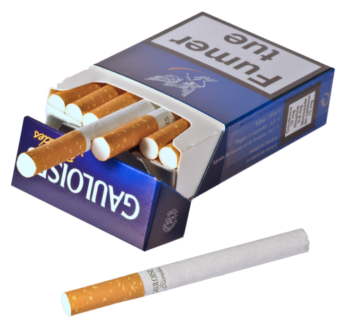 cigarette package tobacco
