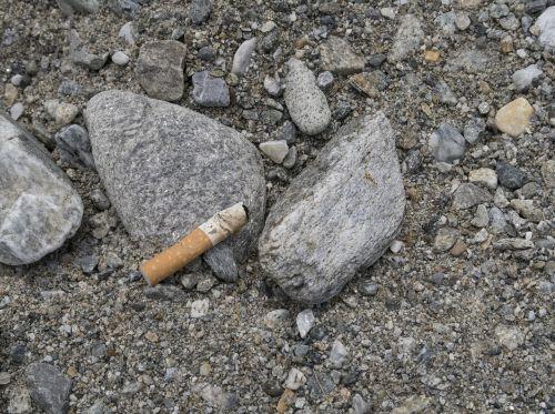 cigarette stones disposal
