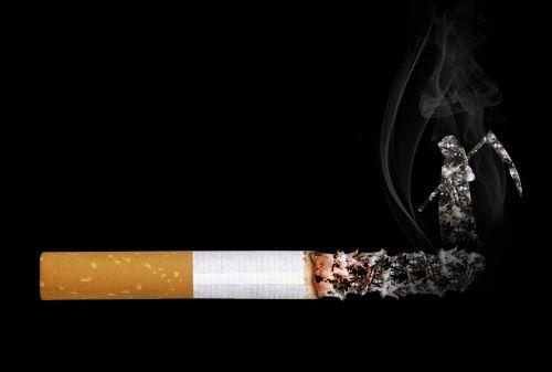 cigarette grim reaper smoke