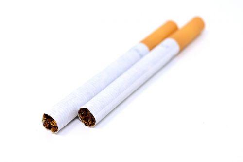 cigarette broken unhealthy