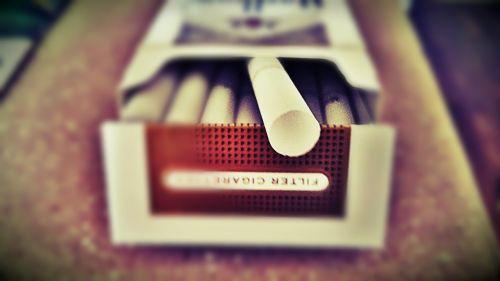 cigarette smoke tobacco