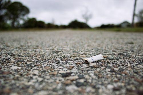 cigarette stub dog-end