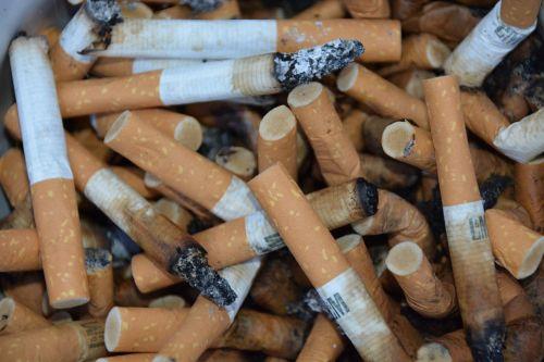 cigarettes addiction garbage