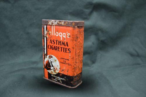 cigarettes kelloggs tin