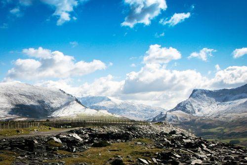 cilgwyn mountains snow