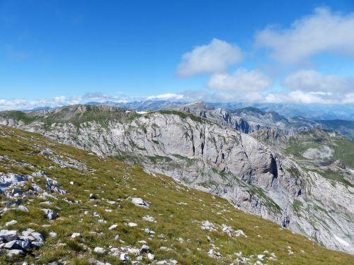 cima della saline mountain summit