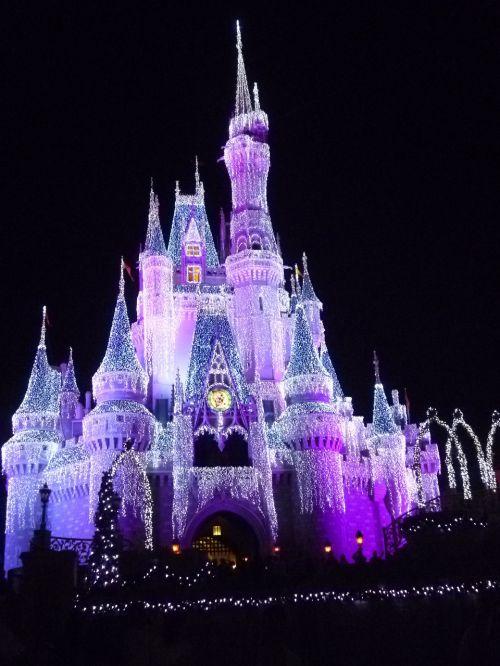 cinderella castle fairytale