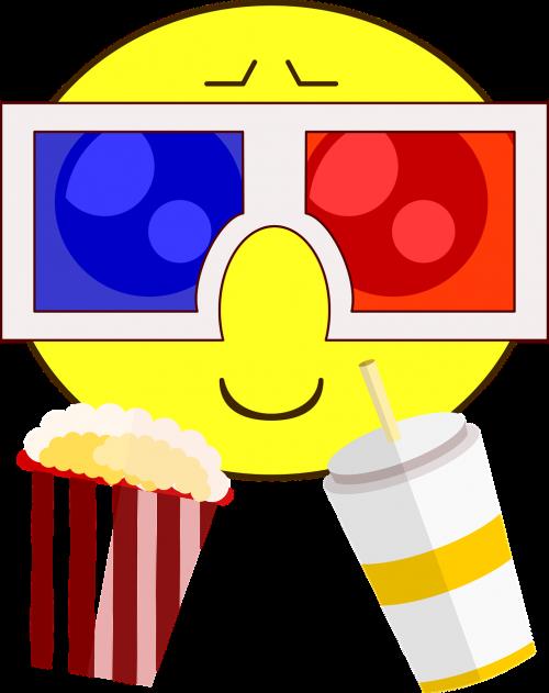 cinema icon 3d