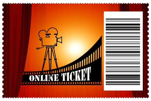cinema  admission ticket  online ticket