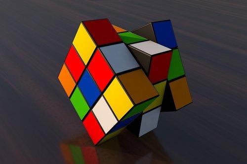 cinema 4d  rubik cube  magic cube