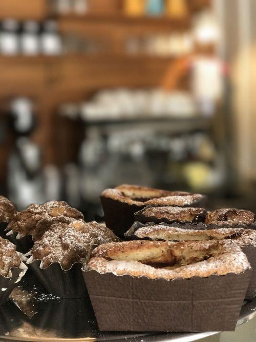 cinnamon buns apple cake coffee break