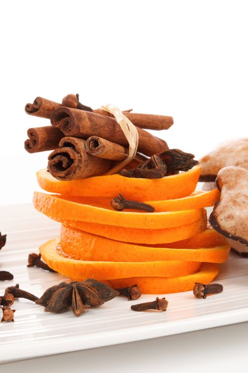 Cinnamon Spices And Orange