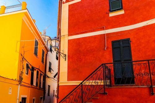 cinque terre village street