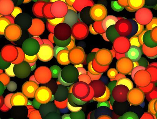 circle light colorful