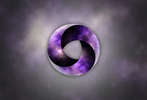 circle space background