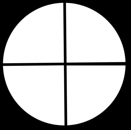 circle shape quadrants