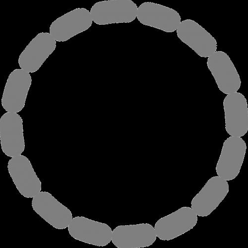 circle dotted dot