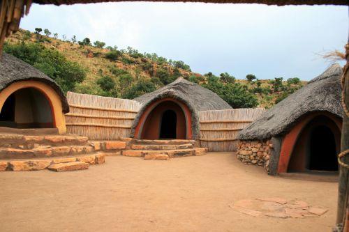 Circle Of Huts