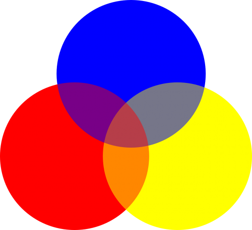 circles colors primary