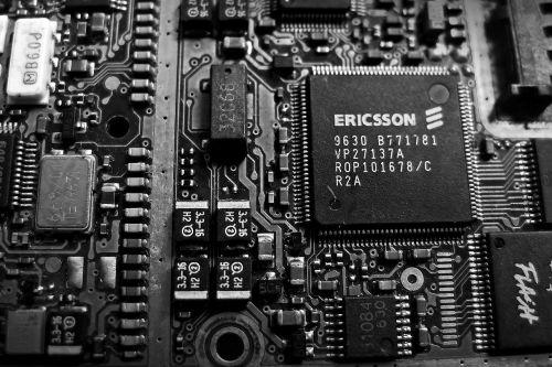 circuit electronics cpu