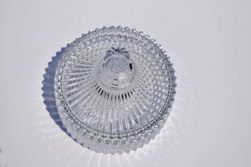 circular glass box radial patterns