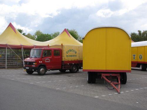 circus circus cars circus tent