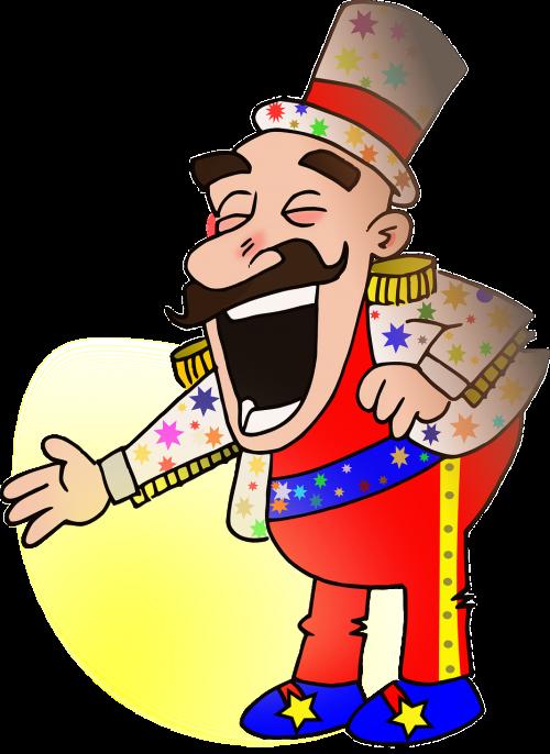 circus man person