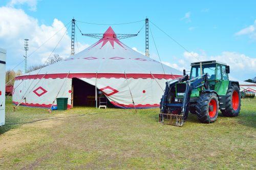 circus building tent