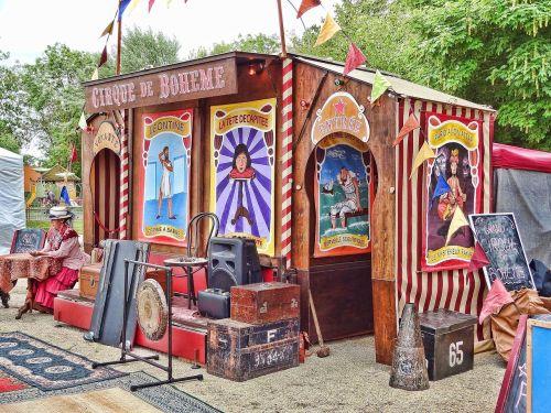 circus tarot seer