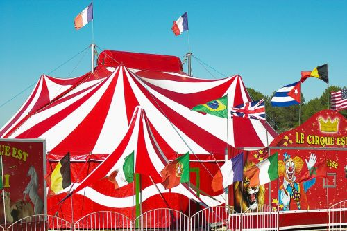circus marquee circus tent