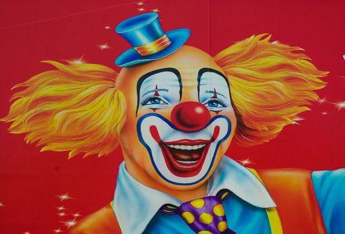 circus clown disguise