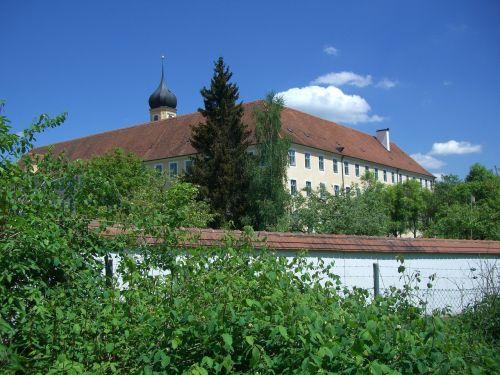 cistercian abbey oberschönenfeld monastery wall