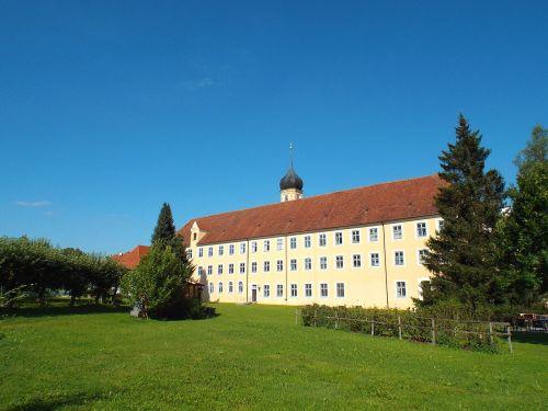 cistercian abbey oberschönenfeld the monastery building
