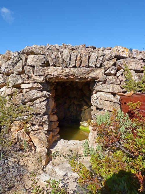 cistern water stone