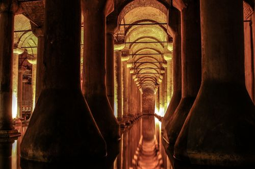 cistern istanbul basilica cistern