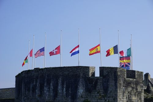 Citadel And Flags