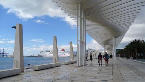 cities malaga port