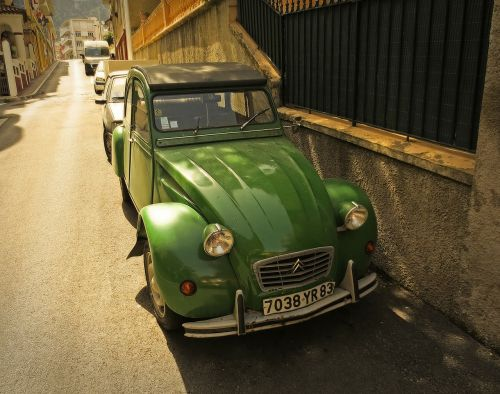 citroën 2cv car old