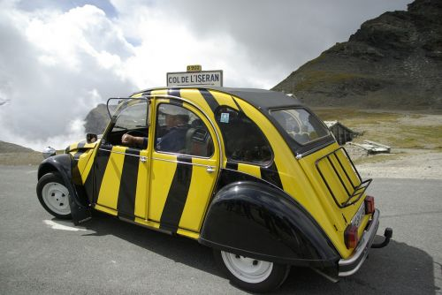 citroen 2cv old car